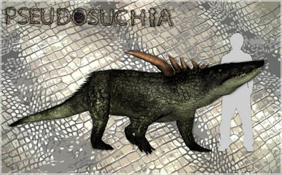 Pseudosuchia - Desmatosuchus spurensis by LazardiK