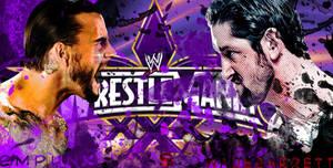 Wrestlemania 30 Cm Punk Vs Wade Barrett by IAmDashing12