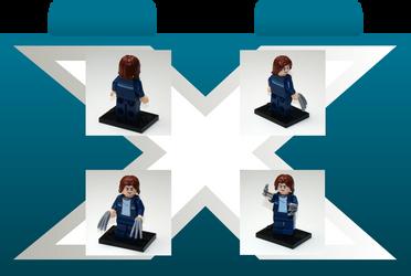 Prototype X - Lego Minifigure by Szufla