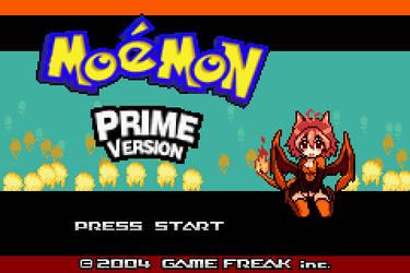 Moemon Prime - Title screen by Szufla