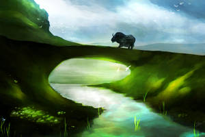 Guild Wars 2 - Gendarran Fields (Daylight) by xX-Lone-Wolf-Xx