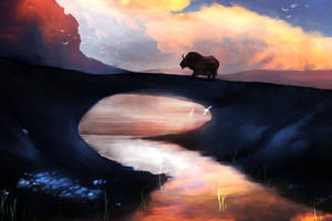 Guild Wars 2 - Gendarran Fields (Dusk) by xX-Lone-Wolf-Xx