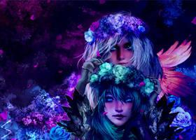 Marjory and Kasmeer's Valentine by xX-Lone-Wolf-Xx