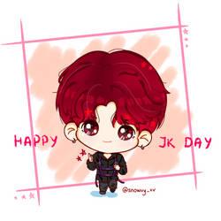 BTS JK Happy Birthday by Snowvy-Strawberry