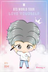 Namjoon Love Youself Tour by Snowvy-Strawberry