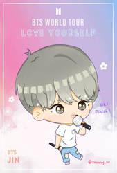 Jin Love Yourself Tour by Snowvy-Strawberry