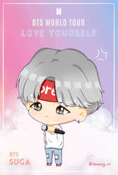 Suga Love Yourself Tour by Snowvy-Strawberry