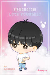 Jungkook Love Yourself Tour by Snowvy-Strawberry