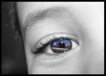 long exposure eye by turn2002