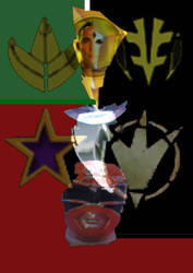 POWER RANGERS by BLACKRANGER2007
