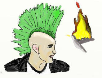 Punk head by tdxiii