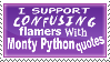 Confusing Flamers Stamp by ZombiDJ