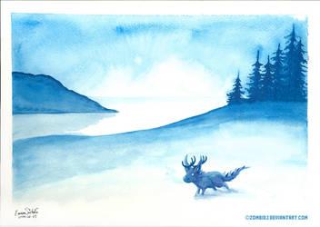 Winter Tundra by ZombiDJ