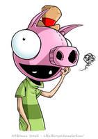 I Luv Pig Pig by ZombiDJ