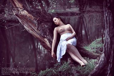 forest mermaid by LoveInMist