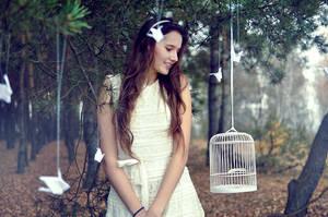 birds by LoveInMist