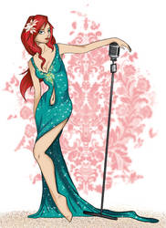 Modern Disney Princess - Ariel by Milojade