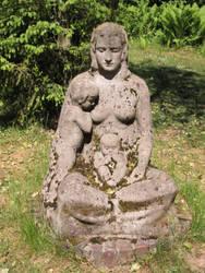 ValerianaSTOCK Sculpture Johann Bossard Mother by ValerianaSTOCK
