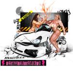 Musclexx Pinup Commission Set 3 Sample by SteeleBlazer84