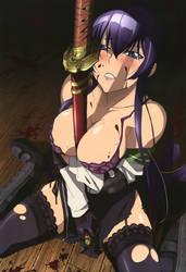 Saeko Busujima by ArmorKingTV21