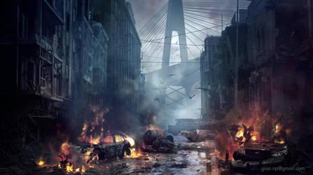 Giao-nguyen-zombie-apocalyse by giaonp