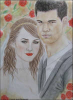Jacob and Renesmee by Anna999