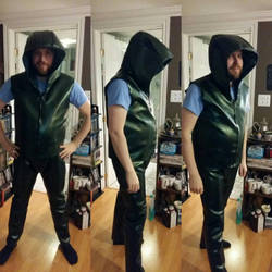 Green Arrow Cosplay WIP Done! by RelicRaider