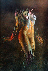 MELTING WOMAN by LEONALEGRIA