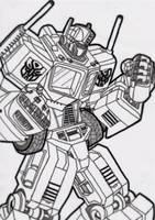 Optimus Prime by birdboy100