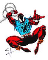 The Scarlet Spider by birdboy100