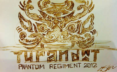 AX Commission: Turandot Phantom Regiment 2012 Logo by SpotofInk