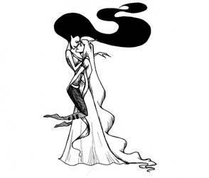 Marceline and Bubblegum by whutnot