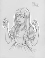 All-seeing Alice by Phoenix-zhuzh