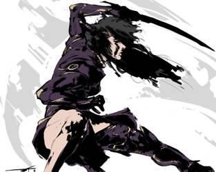 Demon's Dance by MirroredR