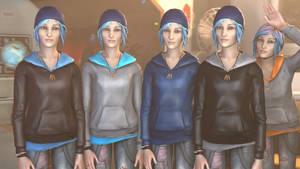 Chloe's Jackets (Alternate skins) by BenGrunder