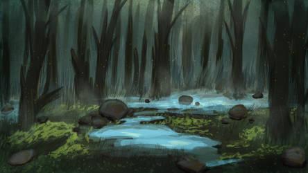Funereal Wetland by BenGrunder