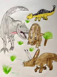 [WWD] Tyrannosaurus Wondering by NestieBot
