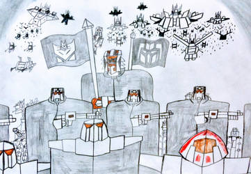 The Army of Genikas by NestieBot