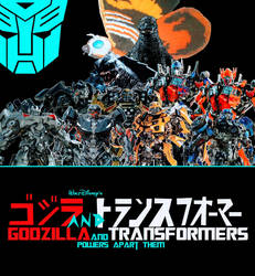 Godzilla and Transformers Heroes Icon by NestieBot
