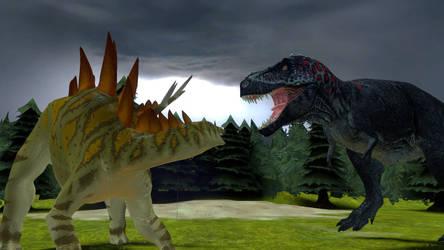 Rite of Spring Dinosaurs by NestieBot