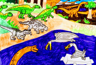 Early-Mid Cretaceous Liverpool by NestieBot