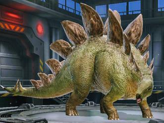 Stegosaurus by NestieBot