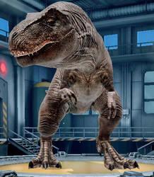 Tyrannosaurus Rex by NestieBot