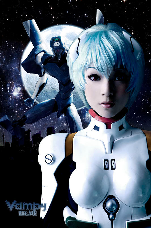 Rei Ayanami by VampBeauty