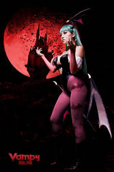 Morrigan Stance by VampBeauty