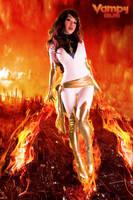 White Phoenix Rising by VampBeauty