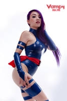 Psylocke Cosplay Xmen by VampBeauty
