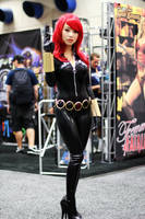Bishoujo Black Widow Cosplay by VampBeauty