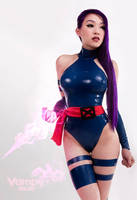 Psylocke Psychic Knife by VampBeauty