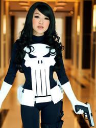 Bishoujo Lady Punisher Cosplay by VampBeauty